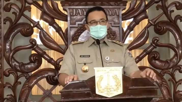 Ini isi aturan lengkap Pergub PSBB DKI Jakarta.