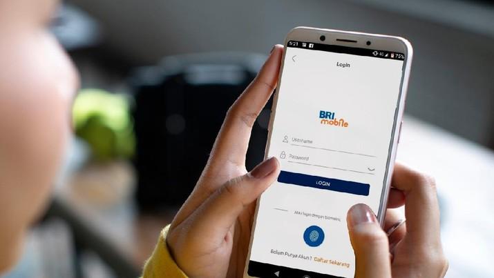 PT Bank Rakyat Indonesia (Persero) Tbk (BBRI) memberikan kemudahan dengan menaikkan limit transaksi.