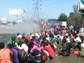 VIDEO: Nasib Perantau India Disemprot Disinfektan Saat Mudik