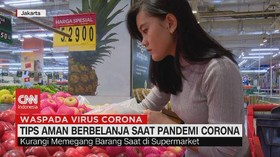VIDEO: Tips Aman Berbelanja Saat Pandemi Corona