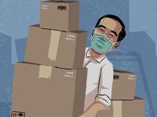 Warga DKI, Hari Ini Paket Sembako Jokowi Datang ke Rumah