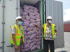 Ribuan Ton Bawang Putih Impor China Sudah Masuk RI