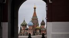 FOTO: Ketika Moskow Dikarantina akibat Corona