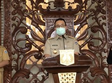 Sempat Ramai Anies Mau 'Lockdown' DKI, tapi Ditolak Jokowi