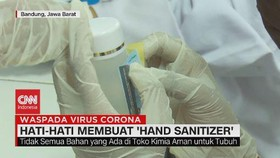 VIDEO: Hati-hati Membuat 'Hand Sanitizer'