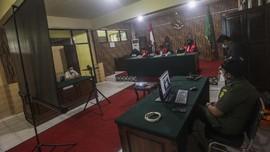 Imbas Corona, Pengadilan Palembang Gelar Sidang Virtual