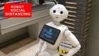 VIDEO: Robot Pengingat Social Distancing