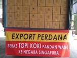 Beras Cianjur Digemari, RI Ekspor Beras Premium ke Singapura