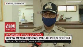 VIDEO: Upaya Mengantisipasi Wabah Virus Corona di Kalideres