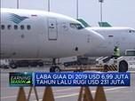 Garuda Akhirnya Cetak Laba Bersih USD 6,99 Juta di 2019