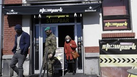 Kota Praha Mengungsikan Gelandangan ke Rumah Bordil
