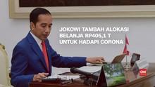 VIDEO: Jokowi Kucurkan Rp405,1 T untuk Hadapi Corona