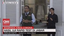 VIDEO: Hasil Uji Rapid Test Jabar, Sukabumi Terbanyak Positif