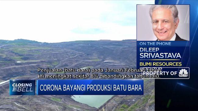 BUMI Corona Bayangi Sektor Batu Bara, BUMI Masih Beroperasi Normal