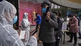 Lebih dari 1.000 Warga China Positif Corona Tanpa Gejala