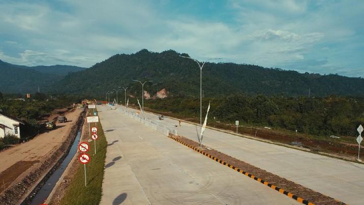 Hutama Karya Terus Kebut Pembangunan Tol Padang-Sicincin