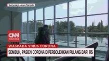 VIDEO: Sembuh, Pasien Corona Diperbolehkan Pulang