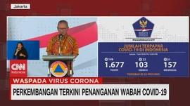 VIDEO: 1 April, Pasien Positif Corona Mencapai 1.677 Kasus