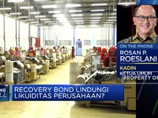 Kadin Sambut Baik Recovery Bond Untuk Mendukung Likuiditas