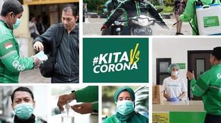 Grab Sumbangkan Rp160 Miliar untuk Redam Dampak Corona