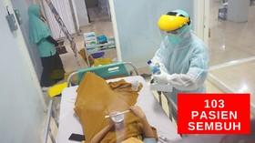 VIDEO: Pasien Covid-19 yang  Sembuh Menjadi 103 Orang