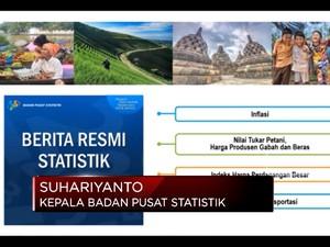BPS Catat Inflasi Maret 0,10%