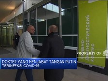 Dokter Yang Bersalaman Dengan Putin Positif Corona