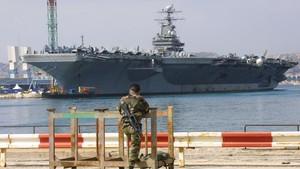 Corona Serang Kapal Induk Nuklir AS, 100 Orang Terinfeksi