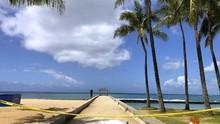FOTO: Pemandangan Sepi Akibat Corona di Hawaii