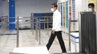 Jokowi Wajibkan Warga Bermasker, Stok Diminta Disiapkan