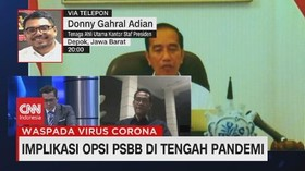 VIDEO: Kontradiksi Opsi PSBB di Tengah Pandemi