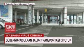 VIDEO: Gubernur Usulkan Jalur Transportasi Ditutup