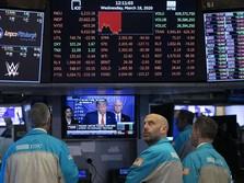 Josss! Wall Street Hijau, Nasdaq Rekor (Lagi)