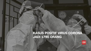VIDEO: 2 April, Kasus Positif Corona 1.790, 113 Sembuh
