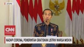 VIDEO: Hadapi Corona, Pemerintah Gratiskan Listrik