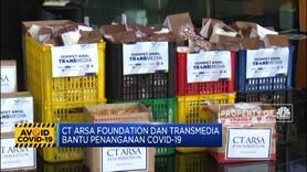 CT Arsa & Transmedia Bantu Penanganan Virus Corona