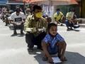 FOTO : Nestapa Perantau di Kala Lockdown di India