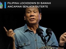 Filipina Lockdown, Duterte Ancam Tembak Warga yang Keluyuran