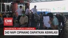 VIDEO: 343 Napi Cipinang Dapatkan Asimilasi