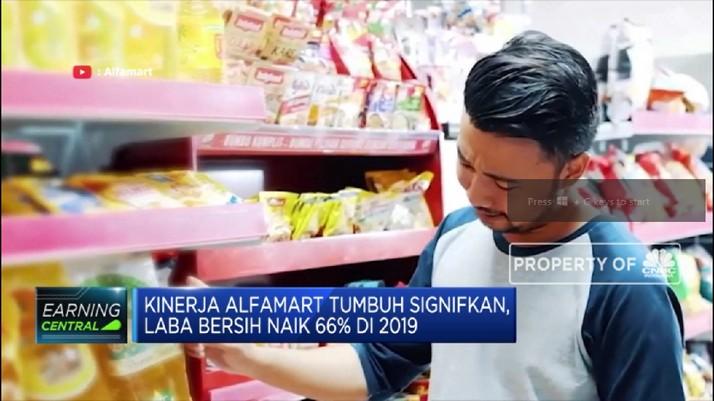 Kinerja AMRT Tumbuh Signifikan, Laba Bersih Naik 66% di 2019