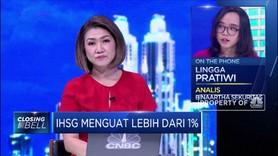 Sempat Memerah, IHSG Berhasil Ditutup Menguat 1,02%