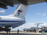 Top! Putin Bantu Trump, Pesawat Militer Rusia Mendarat di AS