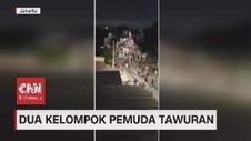 VIDEO: Dua Kelompok Pemuda di Tebet Terlibat Tawuran