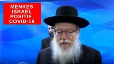 VIDEO: Menkes Israel dan Istrinya Positif Covid-19