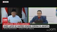 VIDEO: Anies Lapor ke Wapres Kondisi Corona di Jakarta
