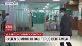 VIDEO: Pasien Covid 19 Sembuh di Bali Terus Bertambah