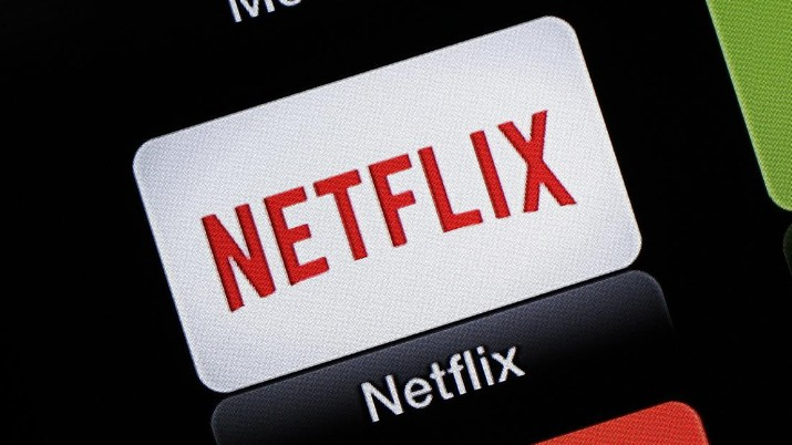 FILE - This June 24, 2015, file photo, shows the Netflix Apple TV app icon, in South Orange, N.J. Netflix reports financial results on Monday, April 18, 2016. Sports are on hold, movie theaters are closed and so are amusement parks. But Americans held captive at home by the coronavirus can turn to Netflix, Amazon, Hulu and other streaming services, outliers in an entertainment industry otherwise brought to an unprecedented standstill. (AP Photo/Dan Goodman, File)