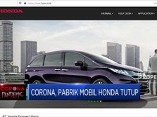 Pabrik Mobil Honda Tutup Akibat Corona