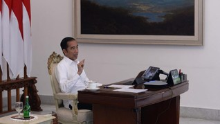 Jokowi Nilai Beban Administrasi Guru Jadi Masalah Pendidikan