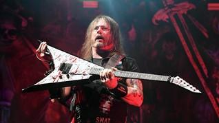 Positif Corona, Gitaris Slayer Tetap Berkarya